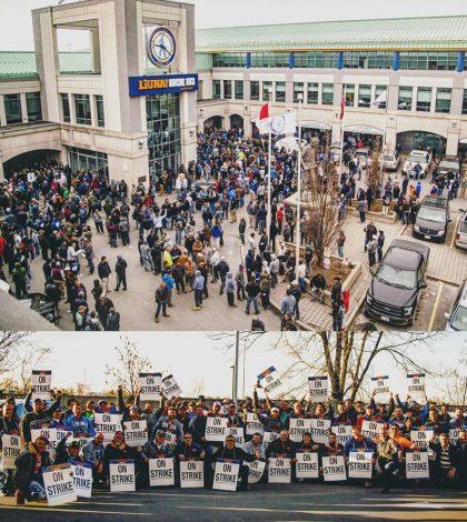 liuna 183 on strike