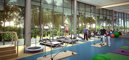 west park rehab gym