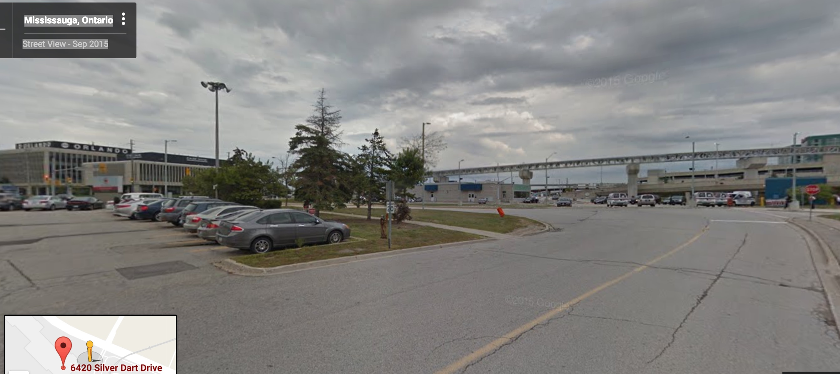hangar area