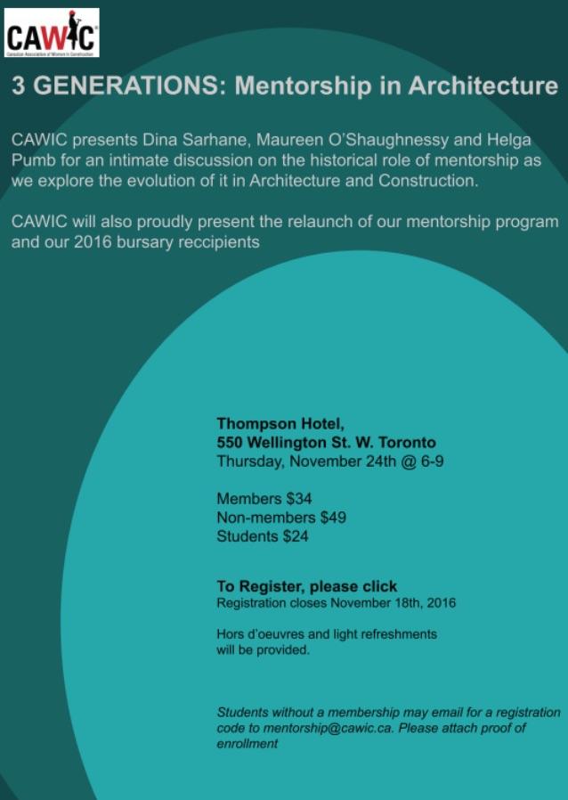 CAWIC mentorship