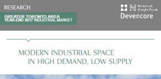 gta industrial space report
