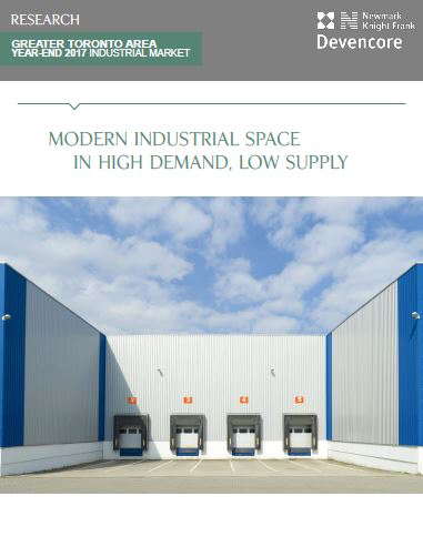gta industrial space report