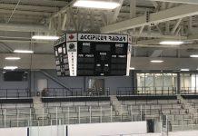 pelham centre scoreboard